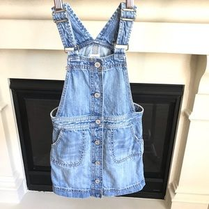 Baby Gap Denim Blue Overall Dress